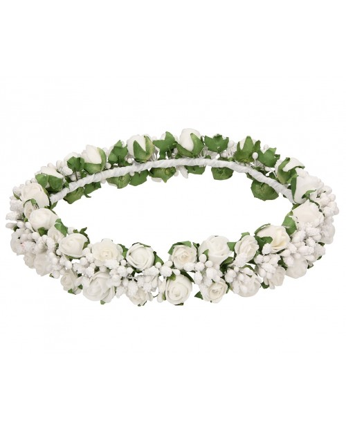 White wreath 028