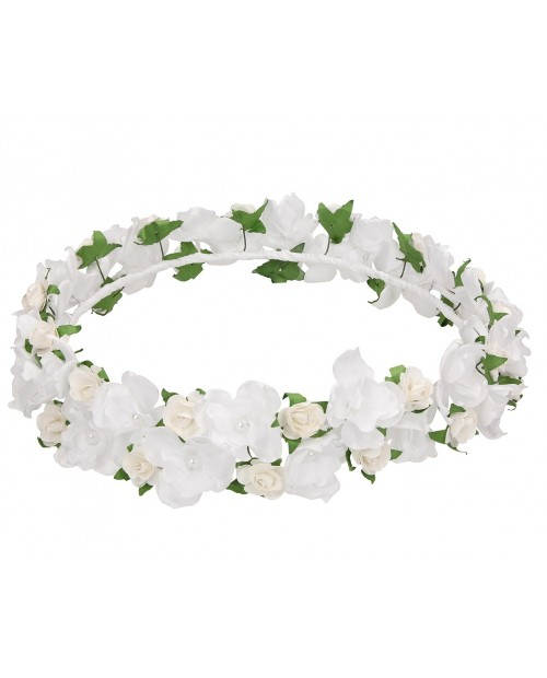White wreath 030