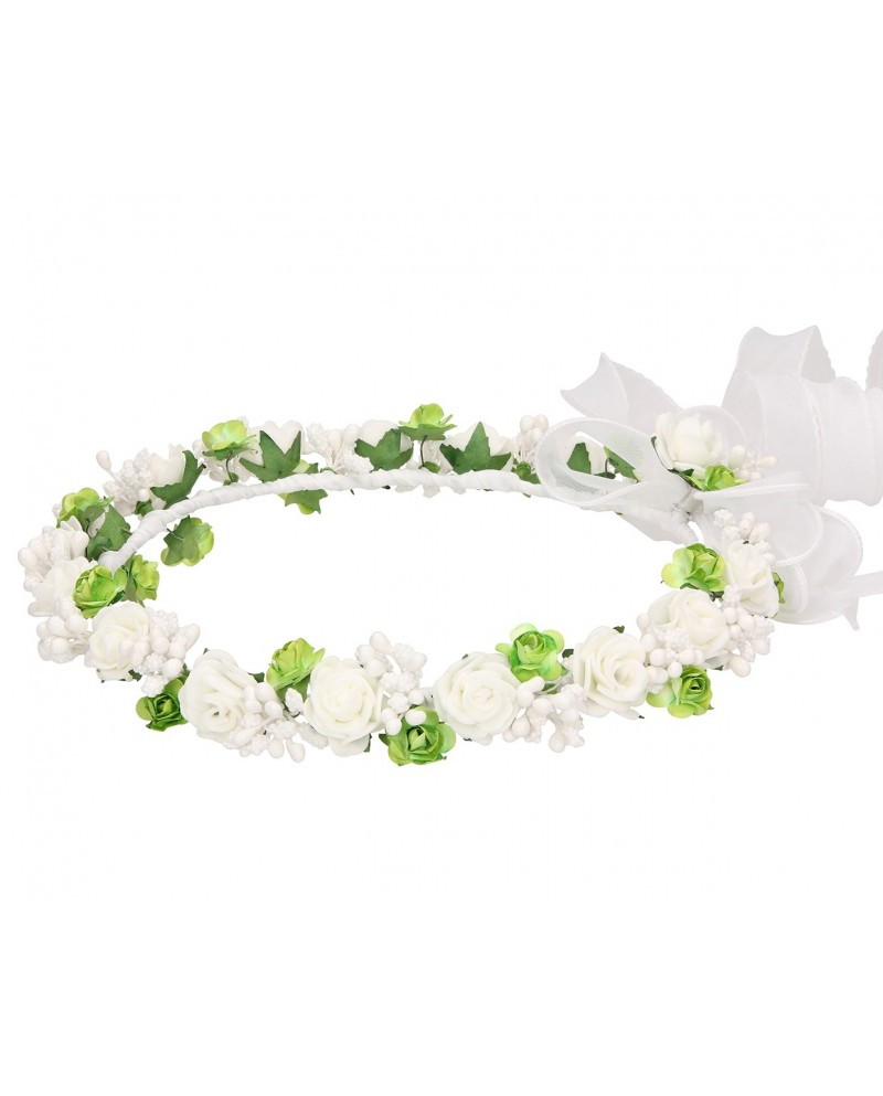 White wreath 032