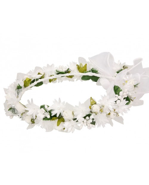 White wreath 033