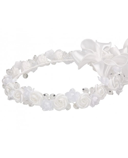 White wreath 077