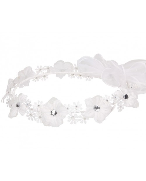 White wreath 120