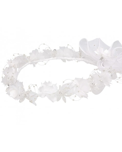 White wreath 109