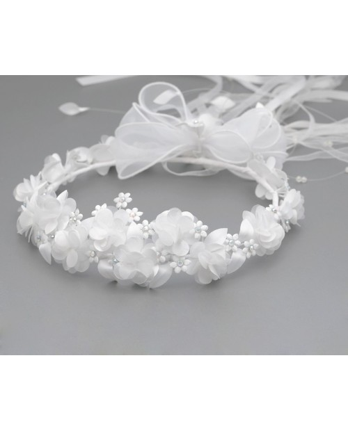 White wreath 014