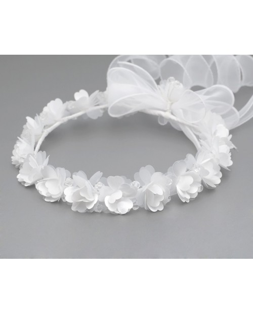 White wreath 015