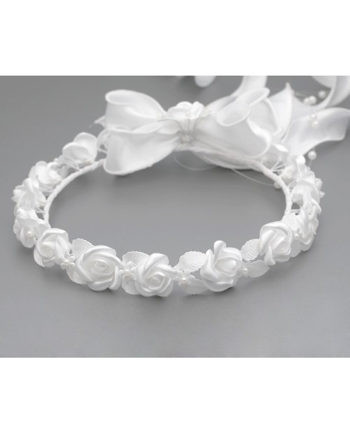 White wreath 016