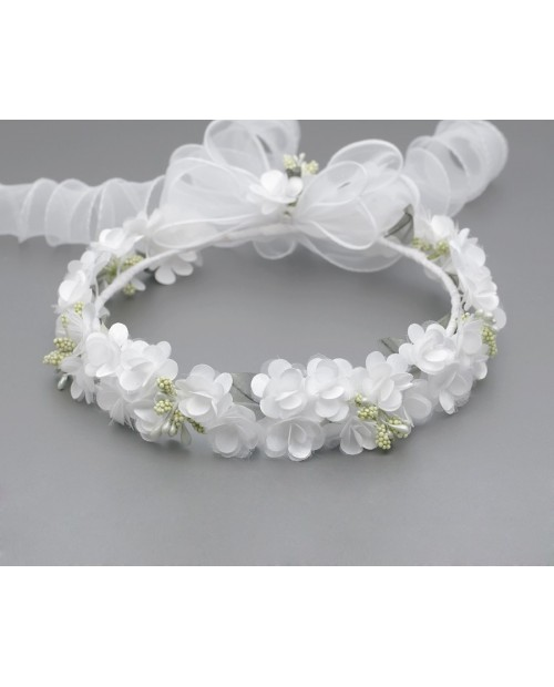 White wreath 043