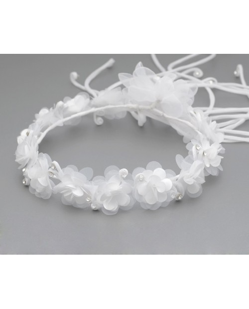 White wreath 062