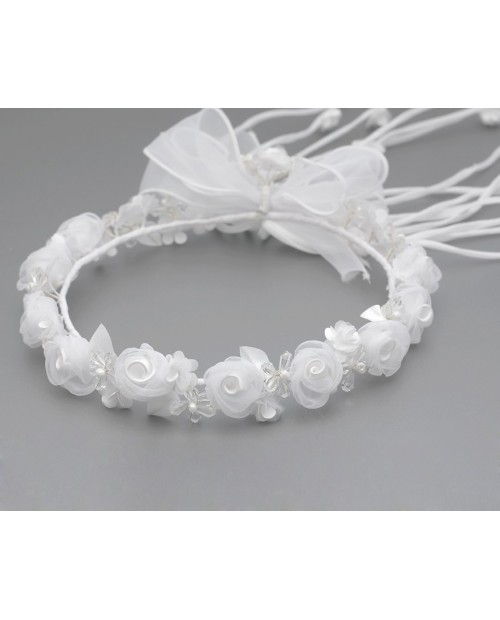 White wreath 081