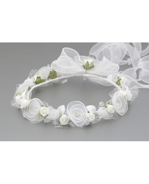 White wreath 003