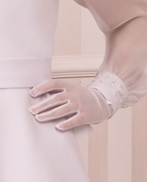 Gloves Tulle haze