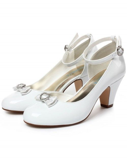 Queen's shoes with bow