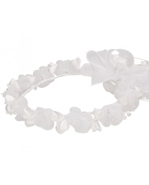 White wreath 022