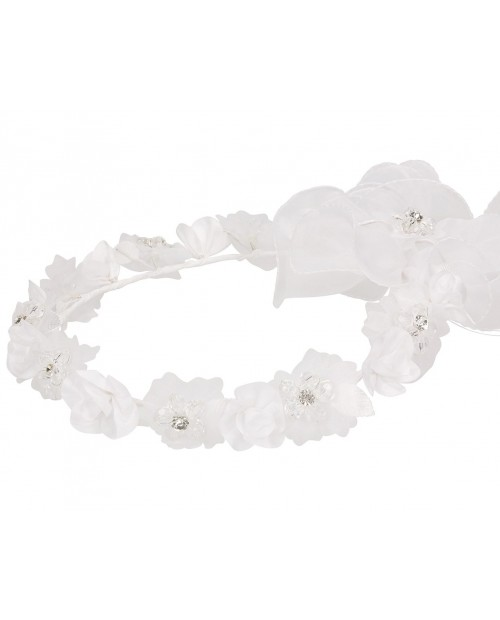 White wreath 035