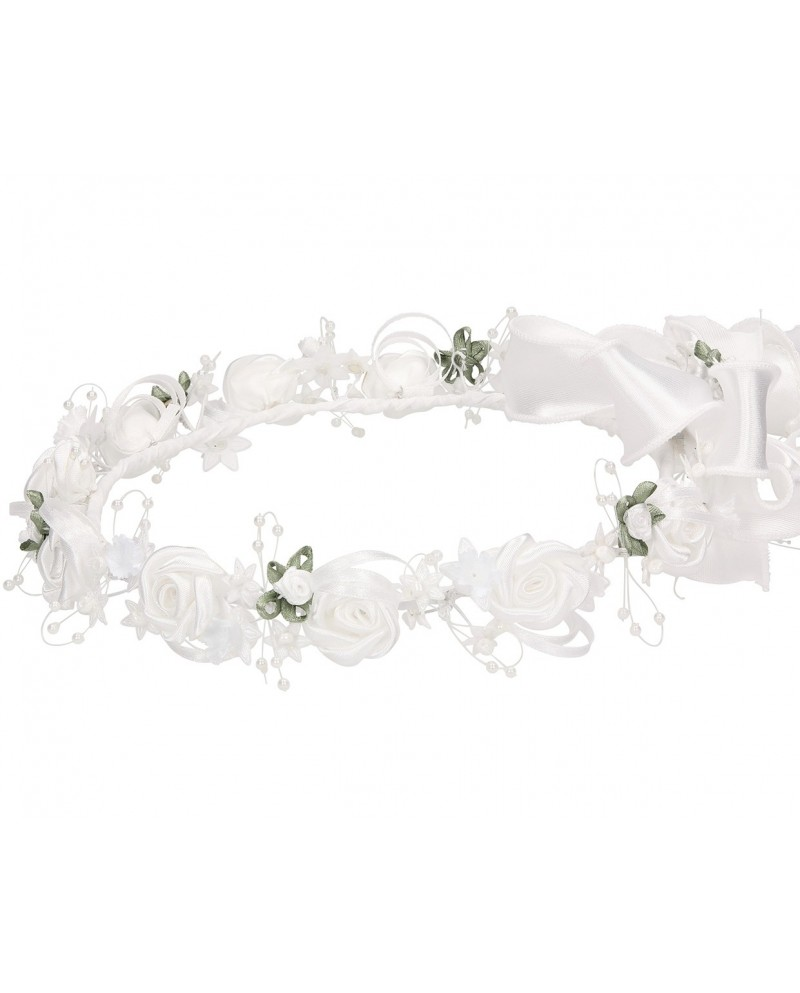 White wreath 044