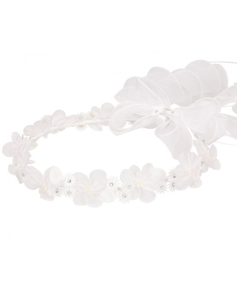 White wreath 049