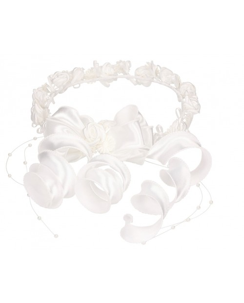 White wreath 055