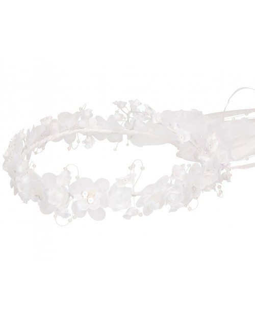 White wreath 057