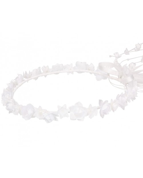 White wreath 059