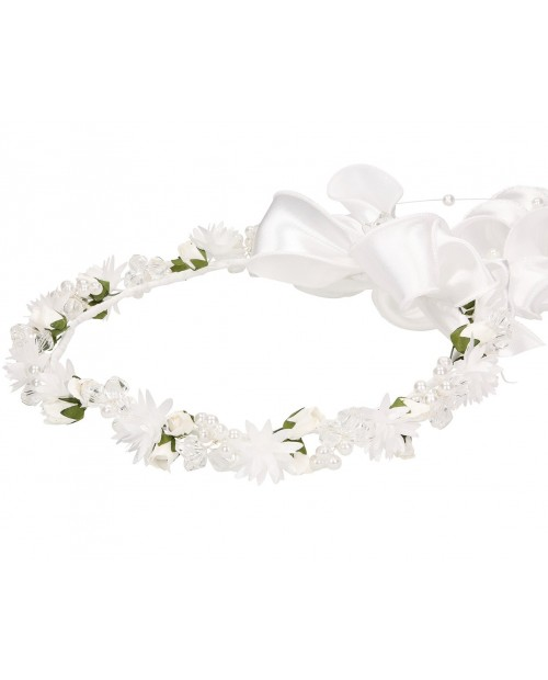 White wreath 079